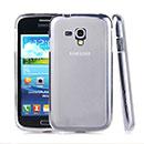 Custodia Samsung Galaxy Core i8262 i8260 Silicone Trasparente Case - Bianco