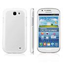 Custodia Samsung Galaxy Express i8730 Plastica Cover Rigida Guscio - Bianco