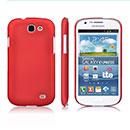 Custodia Samsung Galaxy Express i8730 Plastica Cover Rigida Guscio - Rosso