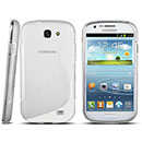 Custodia Samsung Galaxy Express i8730 S-Line Silicone Bumper - Clear