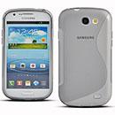 Custodia Samsung Galaxy Express i8730 S-Line Silicone Bumper - Grigio
