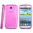 Custodia Samsung Galaxy Express i8730 S-Line Silicone Bumper - Rosa