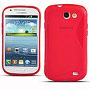 Custodia Samsung Galaxy Express i8730 S-Line Silicone Bumper - Rosso