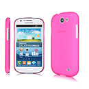 Custodia Samsung Galaxy Express i8730 Ultrasottile Plastica Cover Rigida Guscio - Fucsia