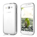 Custodia Samsung Galaxy Grand Duos i9080 i9082 Trasparente Plastica Cover Rigida Guscio - Clear