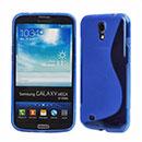 Custodia Samsung Galaxy Mega 6.3 i9200 i9205 S-Line Silicone Bumper - Blu