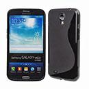 Custodia Samsung Galaxy Mega 6.3 i9200 i9205 S-Line Silicone Bumper - Nero