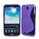 Custodia Samsung Galaxy Mega 6.3 i9200 i9205 S-Line Silicone Bumper - Porpora