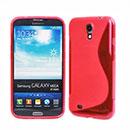 Custodia Samsung Galaxy Mega 6.3 i9200 i9205 S-Line Silicone Bumper - Rosso