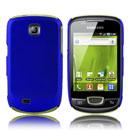 Custodia Samsung Galaxy Mini S5570 Plastica Cover Rigida Guscio - Blu