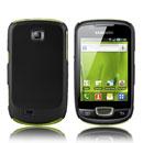Custodia Samsung Galaxy Mini S5570 Plastica Cover Rigida Guscio - Nero