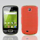 Custodia Samsung Galaxy Mini S5570 Rete Cover Rigida Guscio - Arancione