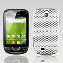 Custodia Samsung Galaxy Mini S5570 Rete Cover Rigida Guscio - Bianco