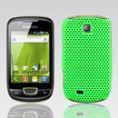 Custodia Samsung Galaxy Mini S5570 Rete Cover Rigida Guscio - Verde