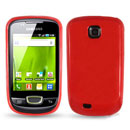 Custodia Samsung Galaxy Mini S5570 Silicone Case - Rosso