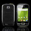 Custodia Samsung Galaxy Mini S5570 TPU Diamante Silicone Case - Grigio