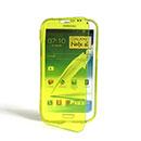 Custodia Samsung Galaxy Note 2 N7100 Flip Silicone Bumper - Verde