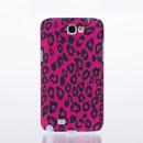 Custodia Samsung Galaxy Note 2 N7100 Leopard Cover Rigida - Fucsia