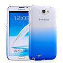 Custodia Samsung Galaxy Note 2 N7100 Sfumatura Cover Bumper - Luce Blu
