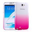Custodia Samsung Galaxy Note 2 N7100 Sfumatura Cover Bumper - Rosa
