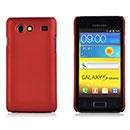Custodia Samsung Galaxy S Advance i9070 Plastica Cover Rigida Guscio - Rosso