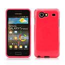Custodia Samsung Galaxy S Advance i9070 Silicone Bumper - Fucsia