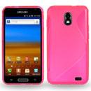 Custodia Samsung Galaxy S2 LTE i9210 S-Line Silicone Bumper - Fucsia