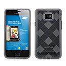 Custodia Samsung Galaxy S2 Plus i9105 Grid TPU Silicone Case - Grigio