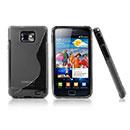 Custodia Samsung Galaxy S2 Plus i9105 S-Line Silicone Bumper - Grigio