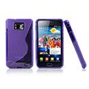 Custodia Samsung Galaxy S2 Plus i9105 S-Line Silicone Bumper - Porpora