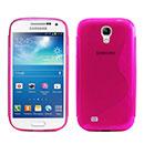 Custodia Samsung Galaxy S4 Mini i9190 S-Line Silicone Bumper - Fucsia