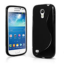 Custodia Samsung Galaxy S4 Mini i9190 S-Line Silicone Bumper - Nero