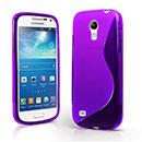 Custodia Samsung Galaxy S4 Mini i9190 S-Line Silicone Bumper - Porpora