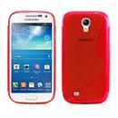 Custodia Samsung Galaxy S4 Mini i9190 S-Line Silicone Bumper - Rosso
