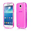 Custodia Samsung Galaxy S4 Mini i9190 Silicone Trasparente Case - Fucsia