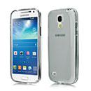 Custodia Samsung Galaxy S4 Mini i9190 Silicone Trasparente Case - Grigio