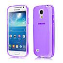 Custodia Samsung Galaxy S4 Mini i9190 Silicone Trasparente Case - Porpora