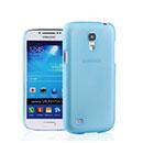 Custodia Samsung Galaxy S4 Mini i9190 Ultrasottile Plastica Cover Rigida Guscio - Blu