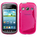 Custodia Samsung Galaxy Xcover 2 S7710 S-Line Silicone Bumper - Fucsia