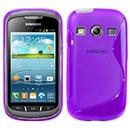 Custodia Samsung Galaxy Xcover 2 S7710 S-Line Silicone Bumper - Porpora