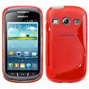 Custodia Samsung Galaxy Xcover 2 S7710 S-Line Silicone Bumper - Rosso