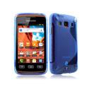 Custodia Samsung Galaxy Xcover S5690 S-Line Silicone Bumper - Blu