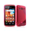 Custodia Samsung Galaxy Xcover S5690 S-Line Silicone Bumper - Rosso