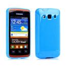 Custodia Samsung Galaxy Xcover S5690 Silicone Case - Luce Blu
