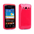 Custodia Samsung Galaxy Xcover S5690 Silicone Case - Rosso