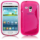 Custodia Samsung i8190 Galaxy S3 Mini S-Line Silicone Bumper - Fucsia
