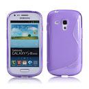Custodia Samsung i8190 Galaxy S3 Mini S-Line Silicone Bumper - Porpora