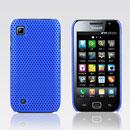 Custodia Samsung i909 Rete Cover Rigida Guscio - Blu