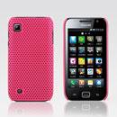 Custodia Samsung i909 Rete Cover Rigida Guscio - Fucsia
