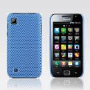 Custodia Samsung i909 Rete Cover Rigida Guscio - Luce Blu